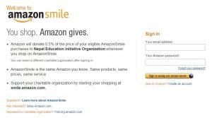 Amazon Smile NEIO